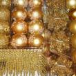 Juletrepynt gull