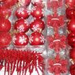Juletrepynt rødt